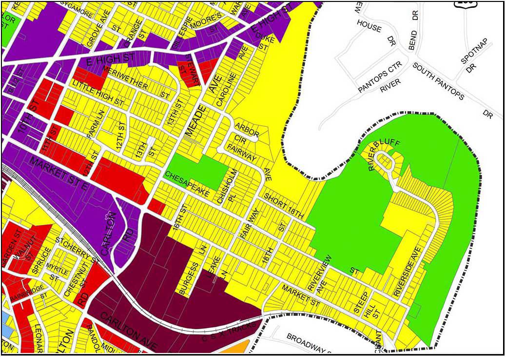 Land Use Plan detail, 8/13/2013