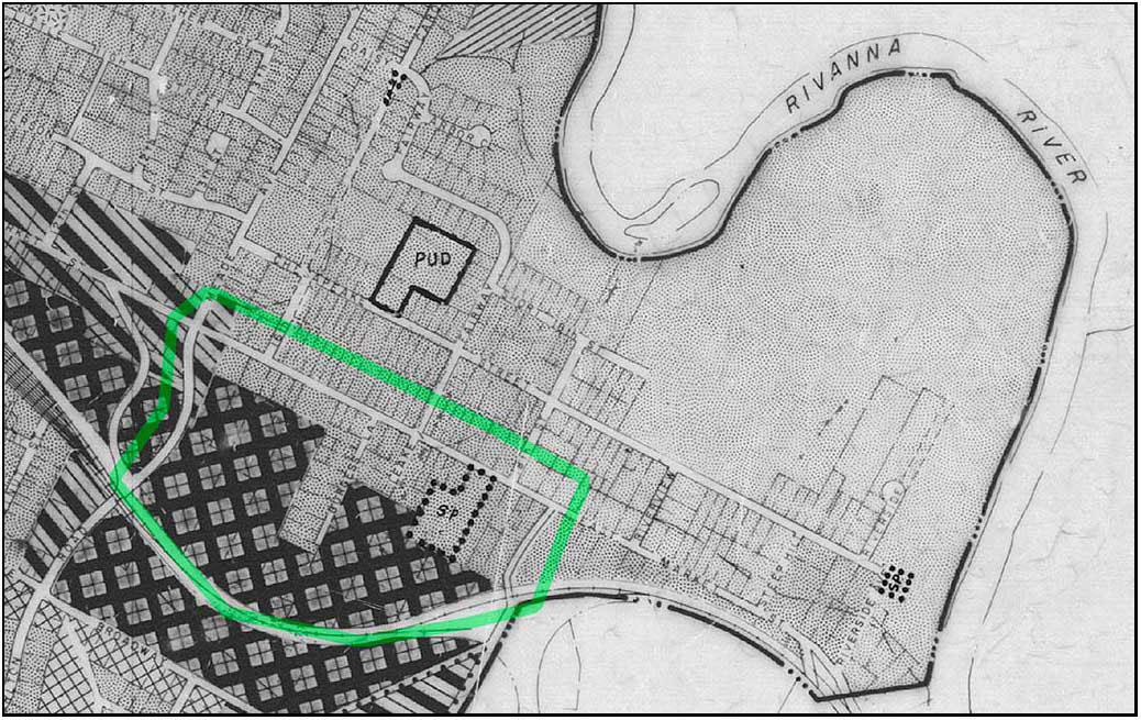 1976 zoning map detail